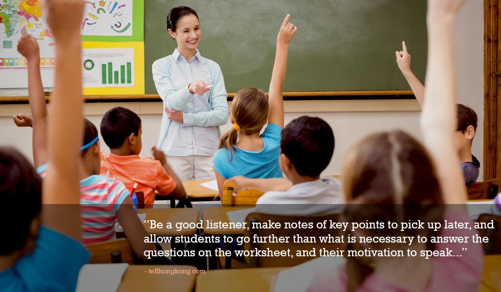 5 Tips for teachers to sharpen their listening skills