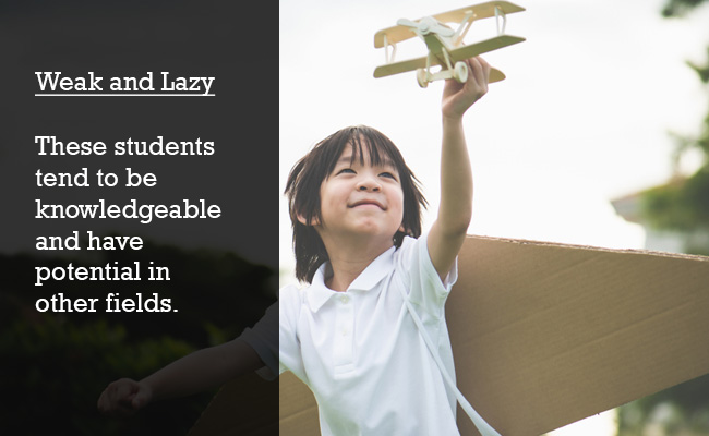 A child flying a top plane