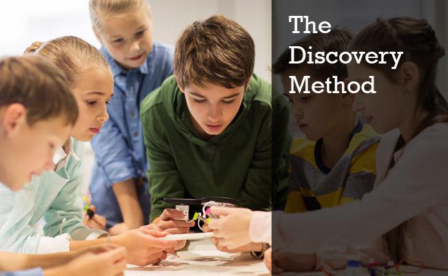 Teaching through discovery method